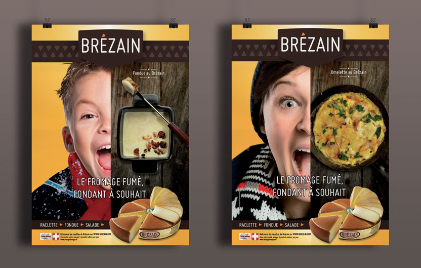 Campagne d'affichage Brézain 2015