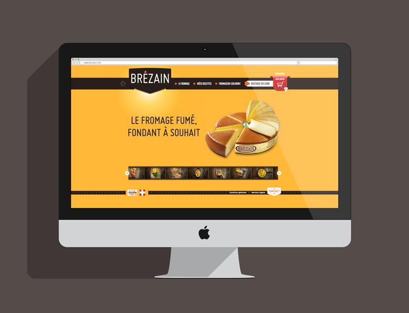 Site internet Brézain