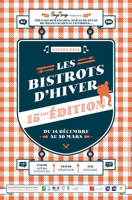 Bistrots d'Hiver : 15ème tournée savoureusement culturelle