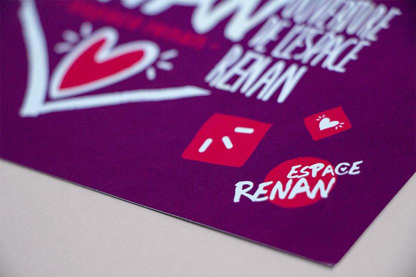 Identité de l'ouverture de l'Espace Renan