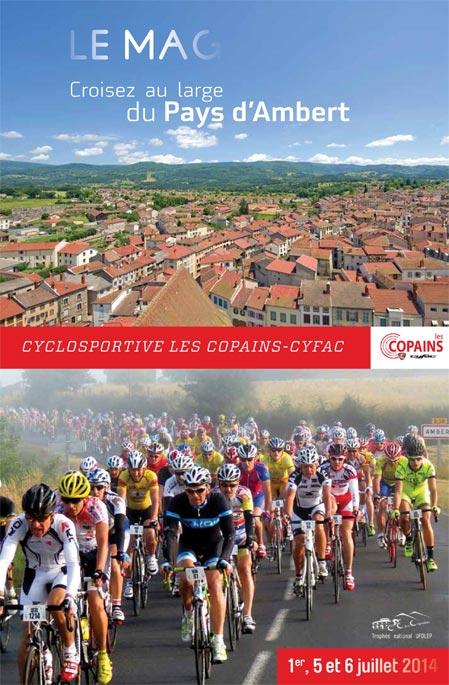 Cyclosportive Les Copains-Cyfac, En magazine et sur facebook !