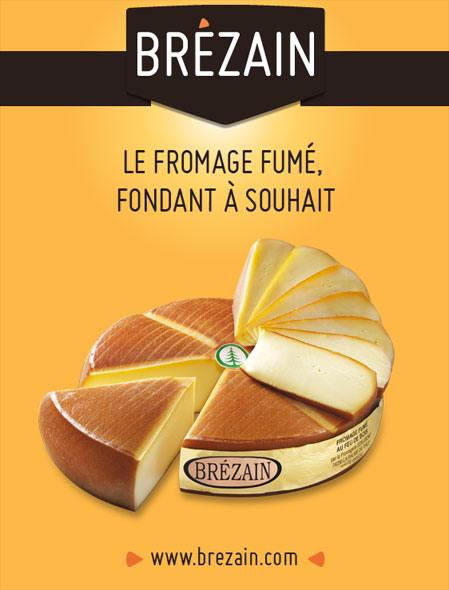 Le fromage Brézain se dévoile sur la toile !