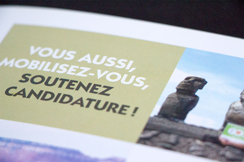 Invitation de la candidature au patrimone mondial de l'UNESCO