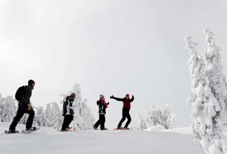 De la neige et du grand air !