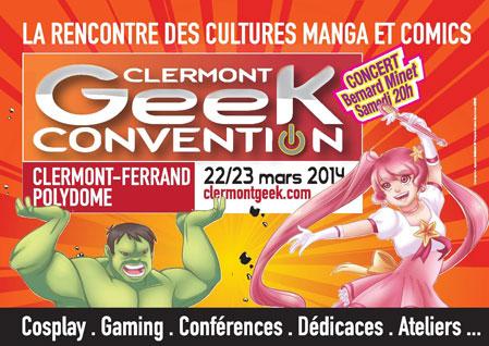 La Clermont Geek Convention investit les 3000 m² du Polydome !