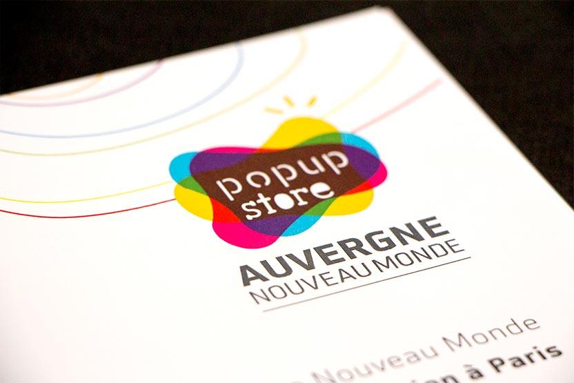 Logo Pop up Store