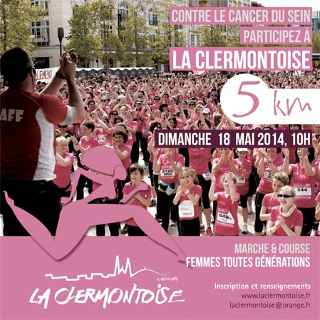 La Clermontoise contre le cancer du sein