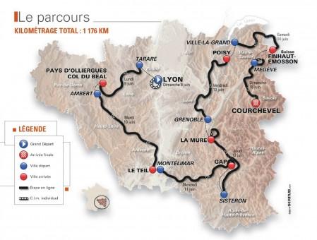 Le Pays d'Ambert au rythme du Critérium du Dauphiné !