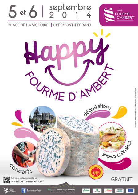 Happy Fourme à Clermont Ferrand, l'événement saveurs