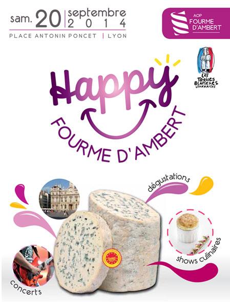 Cook and the city : la place Antonin Poncet va vibrer au rythme de l'AOP Fourme d'Ambert