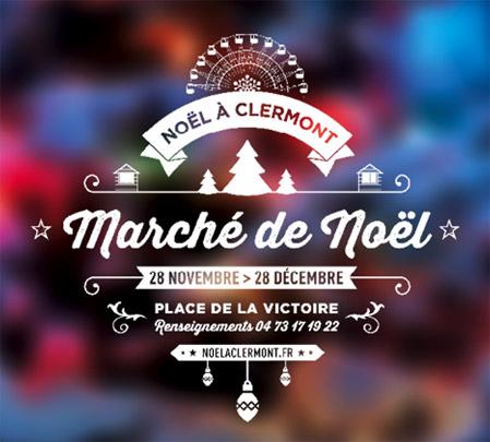 Ouverture du Marché de Noël de Clermont-Ferrand !