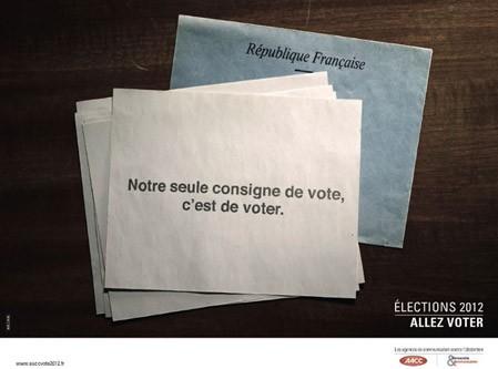 Aller voter !