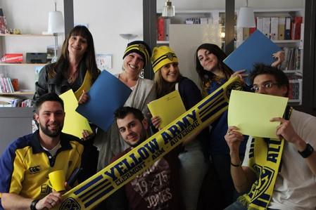 La vie en jaune et bleu !
