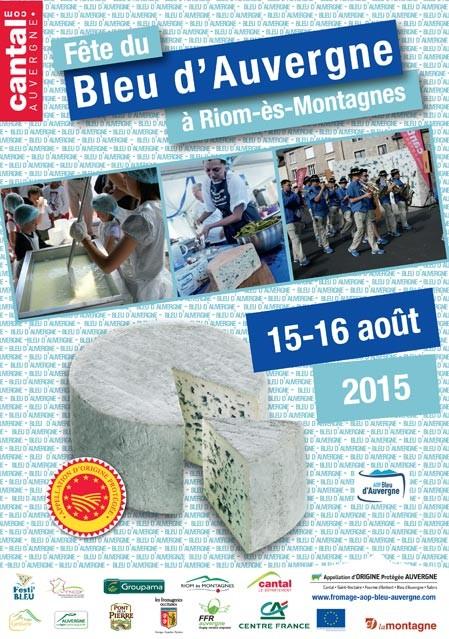 Riom-es-Montagnes fête son AOP Bleu d'Auvergne !