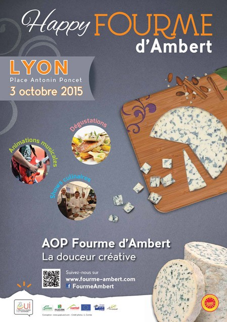 L'AOP Fourme d'Ambert entame sa tournée Happy Fourme