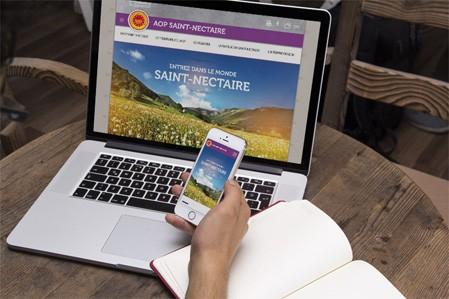 Découvrez le nouveau site internet de l'AOP Saint-Nectaire !