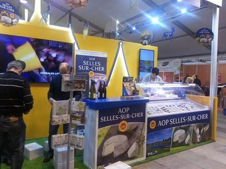 Retour en image des 40 ans de l'AOP Selles-sur-Cher aux Journées Gastronomiques de Sologne !
