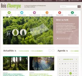 Le nouveau site des propriétaires et professionnels de la forêt bois en Auvergne