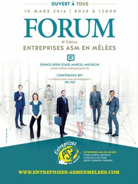 4 ème édition du Forum des entreprises ASM en mêlées