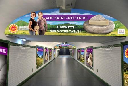 L'AOP Saint-Nectaire en campagne à Paris !