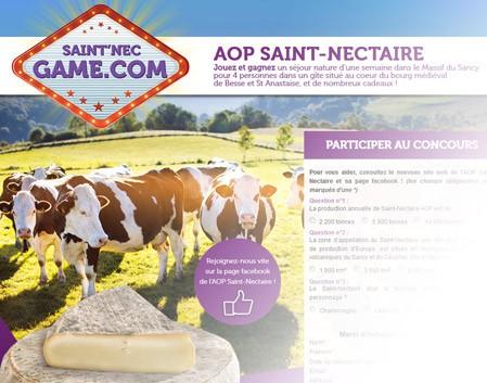 Le Saint'Nec Game !