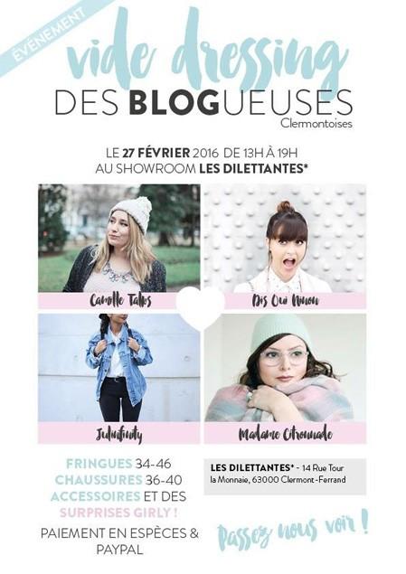 Les blogueuses clermontoises vident leur dressing !
