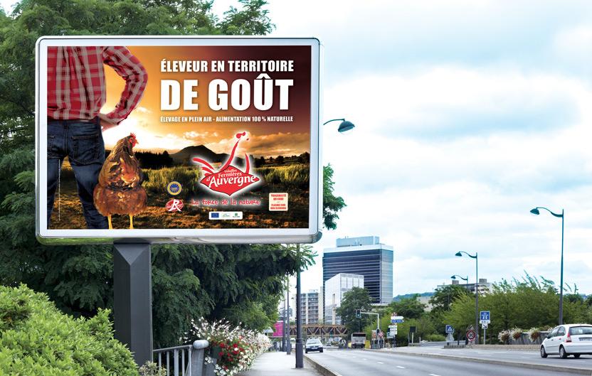 Campagne Auvergne et Loire 2016 sur affichage  4×3
