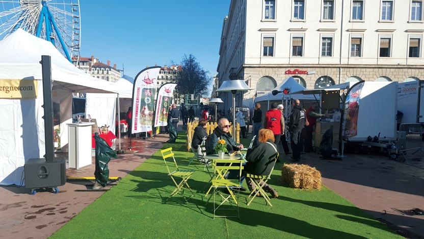 Dégustations événementielles en centre ville de Lyon