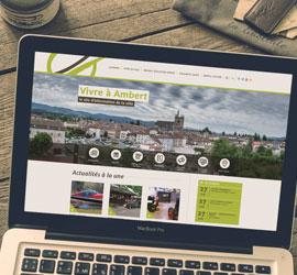 Découvrez le nouveau site internet de la ville d'Ambert !