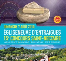 Dimanche 7 août, place au Concours officiel de l'AOP Saint Nectaire !