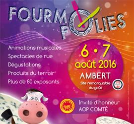 Samedi 6 et dimanche 7 août, le Pays d'Ambert à fond la Fourme !