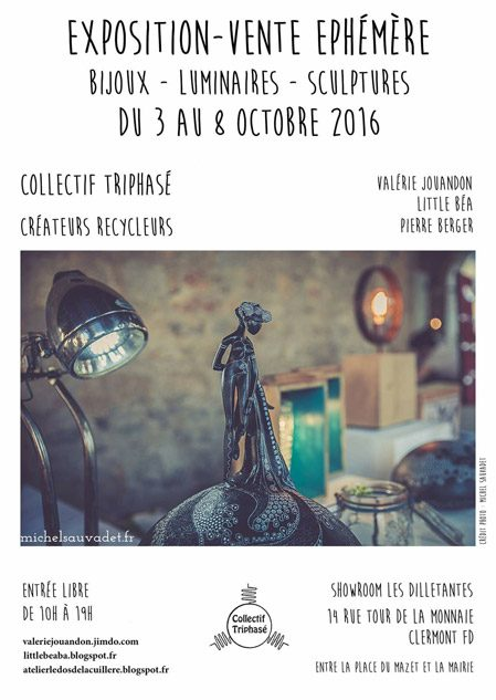 Le collectif triphasé expose au Showroom Les Dilettantes