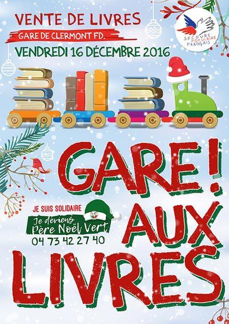 Gare ! aux livres à Clermont-Ferrand