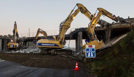 Alerte travaux : fin d'élargissement de l'A71, du pont sud au pont nord sur l'A711 !