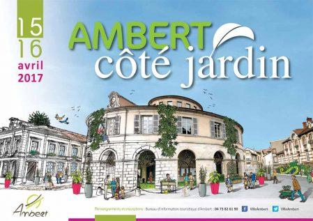 Ambert Côté Jardin réinstalle le jardin en ville !