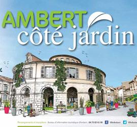 Ambert Côté Jardin réinstalle le jardin en ville!