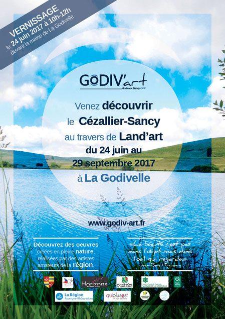 Vernissage du festival Godiv'Art : l'art est dans la nature !