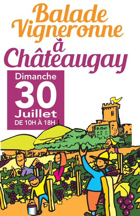 Balade vigneronne à Châteaugay : marche gourmande au cœur du vignoble !