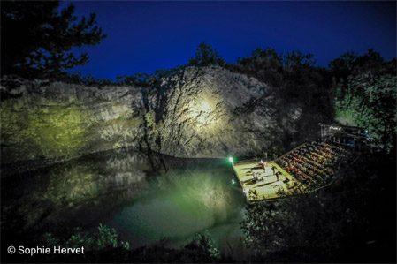 Festival du Volcan du Montpeloux 2017 : 9 spectacles sous les étoiles !