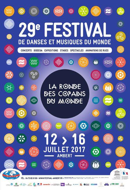 Festival La Ronde des Copains du Monde 2017: tout un monde s'invite dans la ronde !