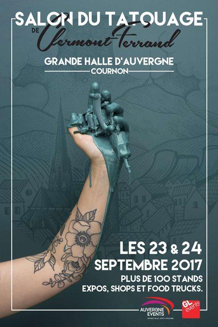 Salon du Tatouage de Clermont-Ferrand : ça va piquer !