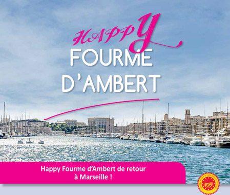 L'événement saveur de l'AOP Fourme d'Ambert fait escale à Marseille !