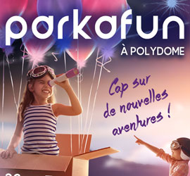 Le plus grand parc d'attraction indoor est à Clermont-Ferrand !