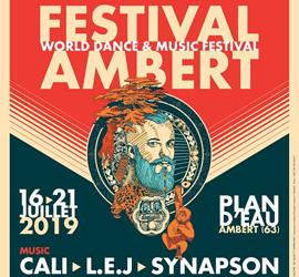 CALI, SINSEMILIA, LES OGRES DE BARBACK, LEJ,… Tout le bonheur du monde à Ambert cet été!