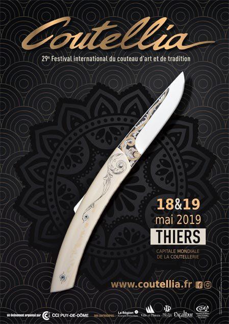 Les couteaux d'art et de tradition font leur show à COUTELLIA les 18 et 19 mai à Thiers !