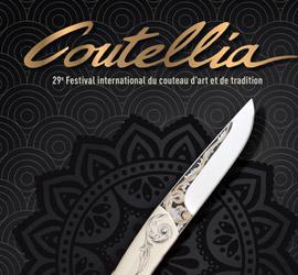 Les couteaux d'art et de tradition font leur show à COUTELLIA les 18 et 19 mai à Thiers!