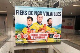 Les Volailles Fermières d'Auvergne, transforment l'essai avec l'ASM Clermont Auvergne