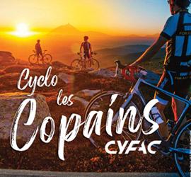 Go s'entraîner pour la cyclo Les Copains-Cyfac!