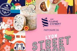 L'AOP Fourme d'Ambert séduit les gastronomes du Lyon Street Food Festival